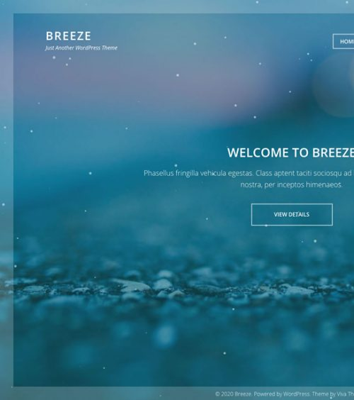 Breeze, JetPack WordPress theme